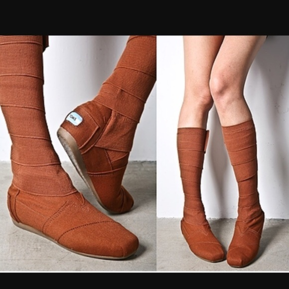 Just In Toms Wrap Boots Vegan Bandage